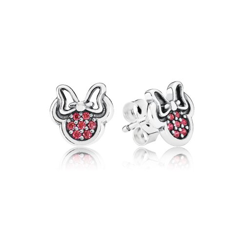 Disney, Pendientes Minnie Brillantes - PANDORA