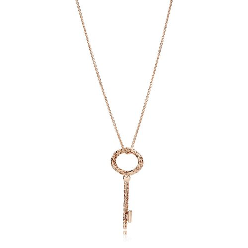 Collar en PANDORA Rose Llave Real