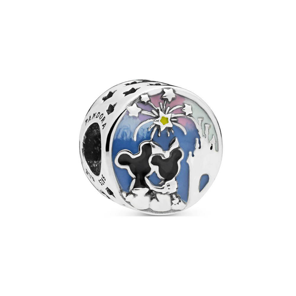 charm pandora fuegos artificiales de mickey y minnie mouse 7501057372417p