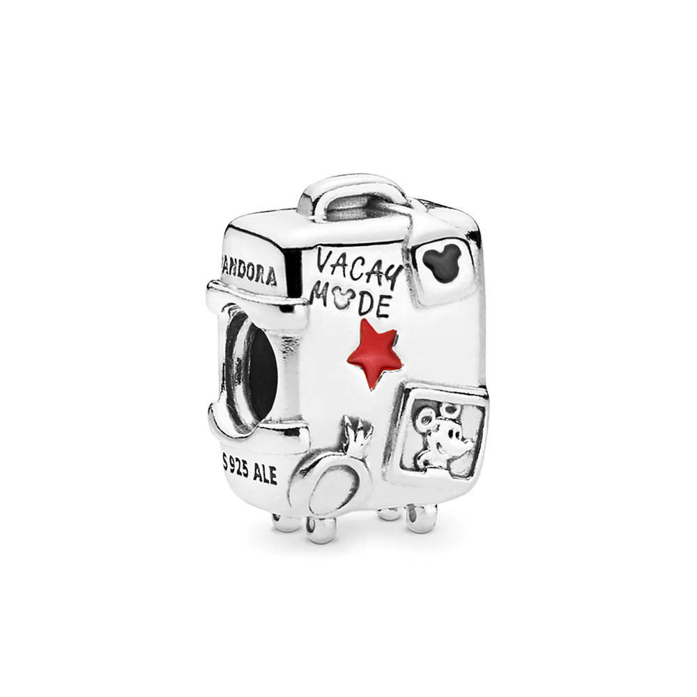 charm pandora maleta mickey y minnie mouse vacay mode 7501057372312p